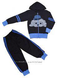 Новый теплый костюм мальчику, размер 116-122
