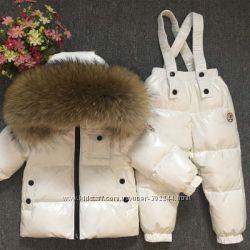 Зимние наборы Moncler для мальчиков и девочек