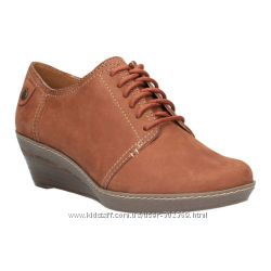 кожаные ботинки Clarks 5UK
