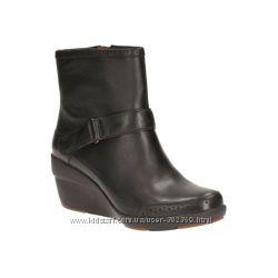 кожаные ботинки утеплён  Clarks 5UK