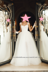 Свадебное платье Blanka  пышная юбка с бантом Carrie. От Оксаны Мухи