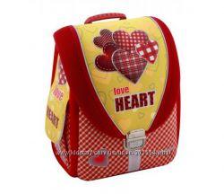 Ранец школьный каркасный-трансформер 14, Love Heart