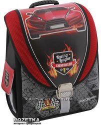 Ранец школьный каркасный Cool For School Racing League 710
