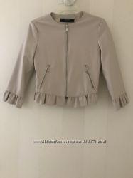 Шикарная Куртка под кожу Zara недорого