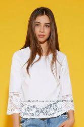 Шикарная рубашка с дорогим кружевом Tezenis