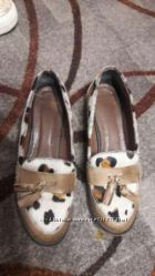 Туфли лоферы Италия