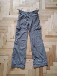 Фирменные коттоновые брюки  MARKS&SPENSER
