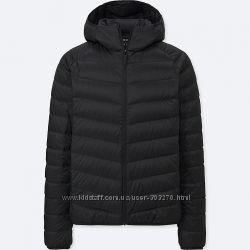 Мужская легкая куртка на пуху уникло Uniqlo размер ХС