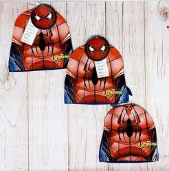 Шапка spider-man, paw patrol, frozen р. 52, 54