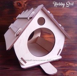 Домик-кормушка для птичек