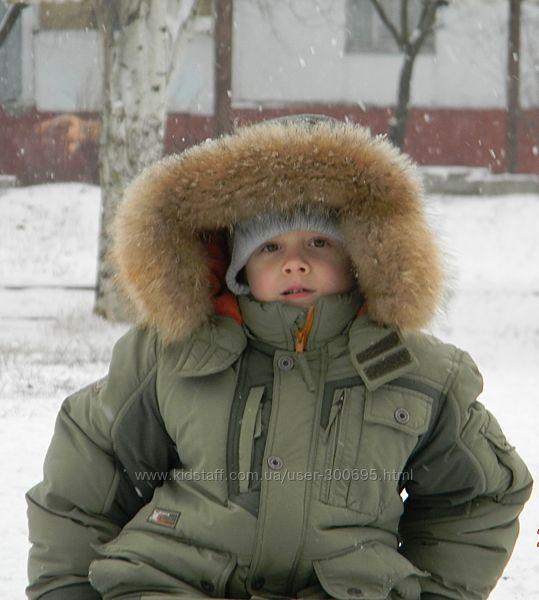Зимняя куртка Donilo цвета хаки