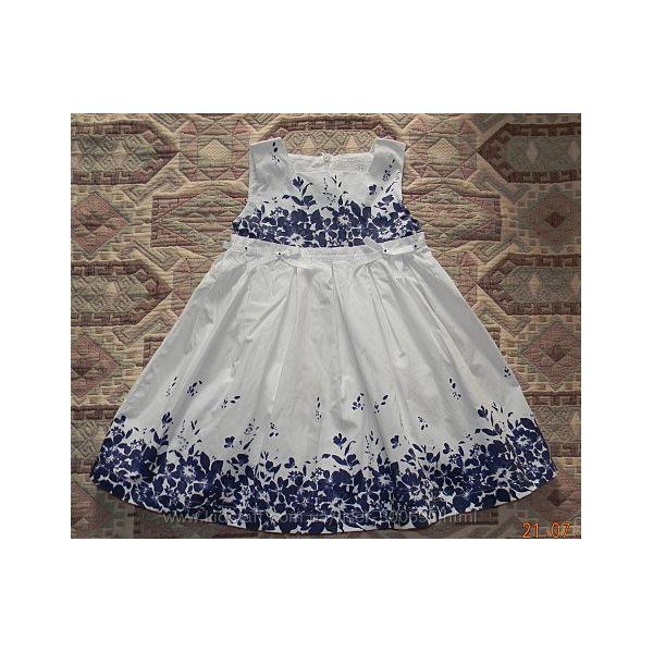 Летнее платье сарафан Артигли Artigli с цветочным принтом. Италия