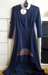нарядное платье a. TAN, xs оригинал