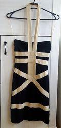 фирменное бандажное платье, идеальное состояние