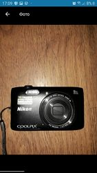 Фотоаппарат Nikon coolpikx S 3600