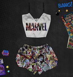 Пижама с принтом Marvel в наличии