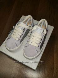 Новые кожаные кеды GEOX кроссовки туфли ботинки для девочки Оригинал