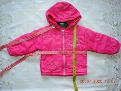 Куртки демисезонные на девочку