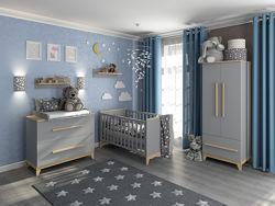 Детская система мебельных сегментов Мила