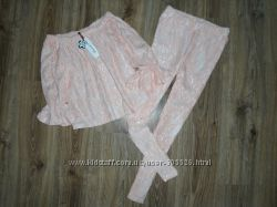 Комплект брюки и блуза на плечи SM
