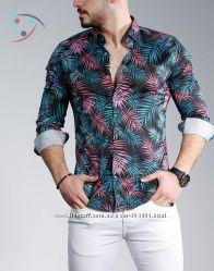 Мужские, стильные, качественные рубашки, короткий , длинный рукав