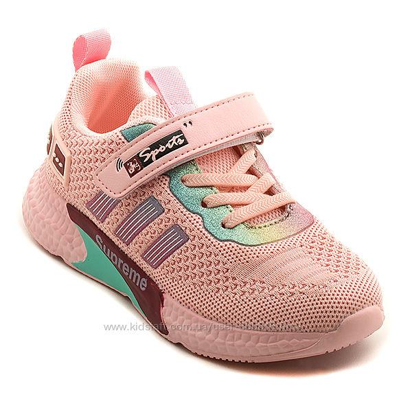 Распродажа Яркие легкие детские кроссовки для девочки, р. 37