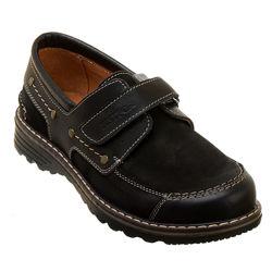 Детские кожаные закрытые туфли на мальчика, р. 34-40