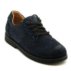 Распродажа Детские кожаные туфли Bistfor Бистфор, р. 33-36. Школьна обувь.