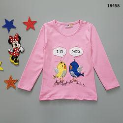 Кофта Птички для девочки