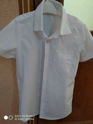 Белая рубашка Джордж на7-8 лет