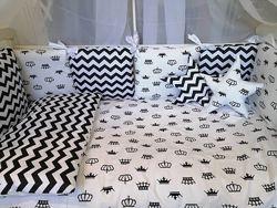 Очень красивые наборы 9 в 1 в кроватку bonna звезды