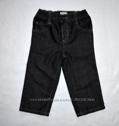Джинсы черные Marks&Spencer мальчику на 1, 5-2 года, рост 90 см