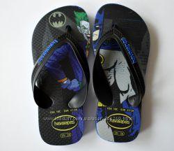 Детские вьетнамки Havaianas Flip Flops Batman Joker, 25-26 размер
