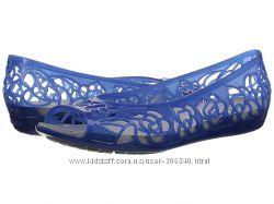 Балетки Crocs 7 и 9р. синие из США оригинал