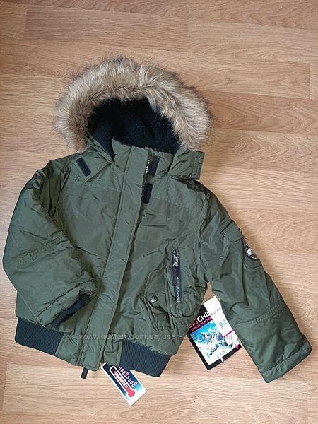 Куртка зима Big Chill хаки 5-6лет