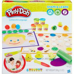Play-Doh Набор пластилина Буквы и языки Shape and Learn Letters and Languag