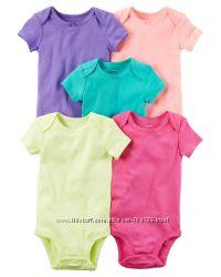 Комплект бодиков для девочки Carters Разноцвет A40597 6м 9м 12м 18м 24м