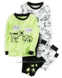 Комплект детских пижам для мальчика Carters A40602 2т 3т