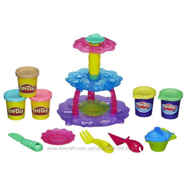 Набор пластилина Play-Doh Sweet Shoppe Cupcake Tower Башня из кексов
