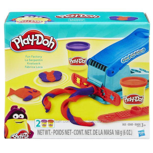 Play Doh Мини набор веселая фабрика Fun Factory Set B5554