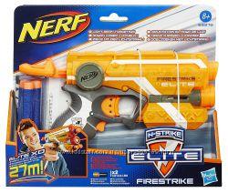Nerf Бластер элит файрстрайк с лазерным прицелом N Strike Elite Firestrike