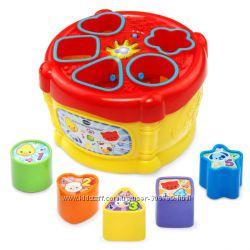 Vtech Музыкальная игрушка сортер барабан Sort Discover Drum