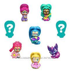 Fisher-Price Shimmer Shine Teenie Genies Шиммер и Шайн набор из 8 фигурок