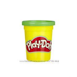 Play-Doh Пластилин плей до зеленый поштучно Bulk 12-Pack of Green Non-Toxic