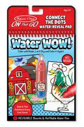 Melissa & Doug Water Wow раскраска Волшебная On the Go водная многоразовая