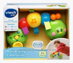 VTech Развивающая музыкальная гусеница Baby Roll and Sing Caterpillar