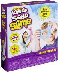 Kinetic Sand Набор для изготовления слайма Кинетический песок Slime Lab