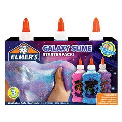 Elmers набор блестящего клея для слаймов слайм 3 шт glitter glue slime блес
