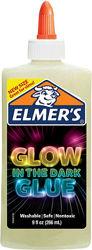 Elmers клей для слаймов слайм светящийся в темноте 266 мл  electrifying glo