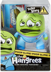 the Hangrees набор со слаймом toilet story collectible parody figure with s
